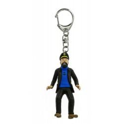 Keychain: Captain Haddock, 5,5 cm