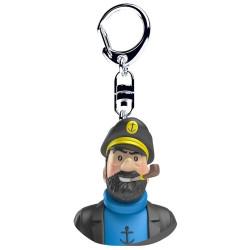 Keychain: Captain Haddock - Bust