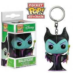 Μπρελόκ: Disney Pocket POP! Maleficent, 4 cm