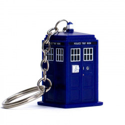 Keychain: Doctor Who Light-Up Tardis