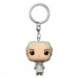 Keychain: Game of Thrones Pocket POP! Vinyl - Daenerys (White Coat)