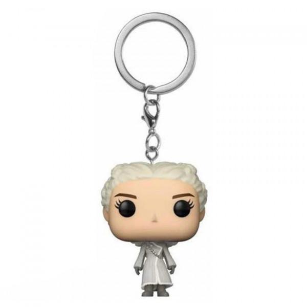 Keychain: Game of Thrones Pocket POP! Vinyl - Daenerys (White Coat)