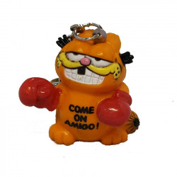 "Keychain: Garfield ""Come on Amigo"""