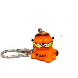 """Keychain: Garfield """"Hello"""""""
