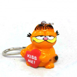 "Keychain: Garfield ""Kiss me"""