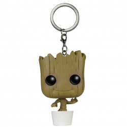 Keychain: Guardians of the Galaxy Pocket POP! Vinyl - Dancing Groot
