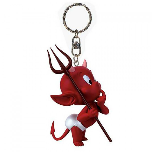 Keychain: Hot Stuff Perplexed