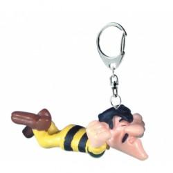 Keychain: Joe Dalton prisoner 6 cm