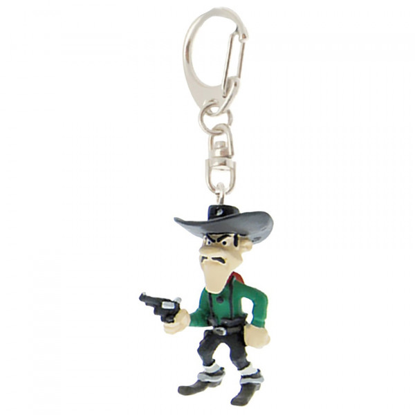 Keychain: Joe Dalton with pistol (Mini)