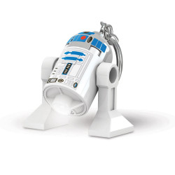 Keychain: Lego R2-D2 LED Light-Up
