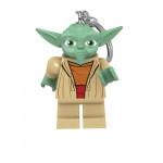 Keychain: Lego Yoda LED Light-Up