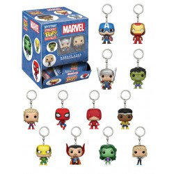 Keychain: Marvel Comics Pocket POP! Vinyl, 5 cm