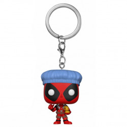 Keychain: Marvel Pocket POP! Vinyl - Deadpool Bathtime