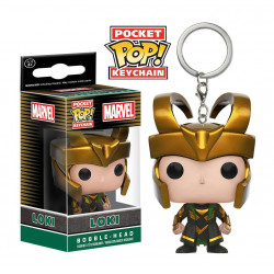 Keychain: Marvel Pocket POP! Vinyl Loki