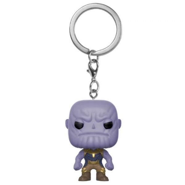 Keychain: Marvel Pocket POP! Vinyl - Thanos