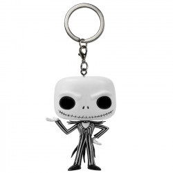 Keychain: Nightmare Before Christmas Pocket POP! Vinyl Jack Skellington