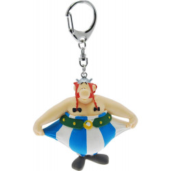 Keychain: Obelix holding his pants