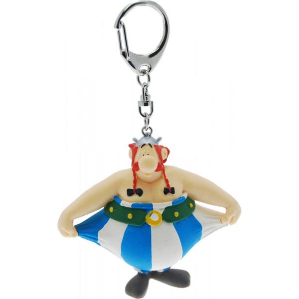 Keychain: Obelix holding his pants