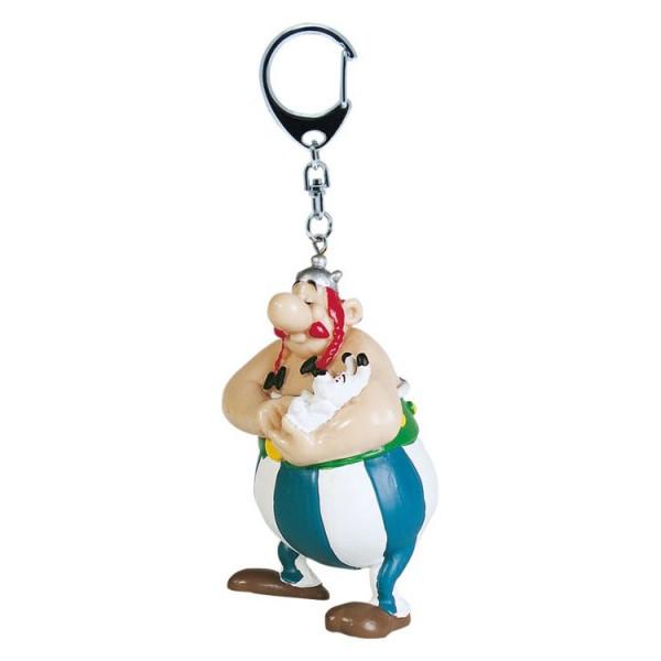 Keychain: Obelix with Dogmatix