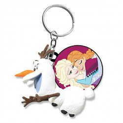 Keychain:  Olaf runs (Frozen)