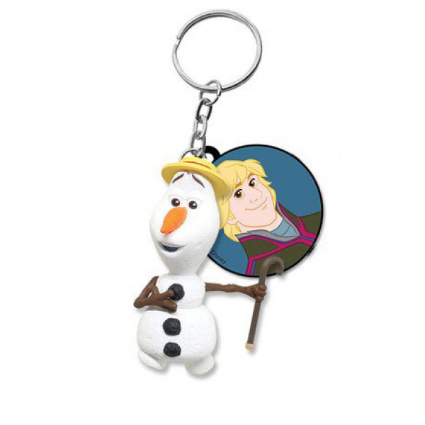 Keychain:  Olaf with hat (Frozen)
