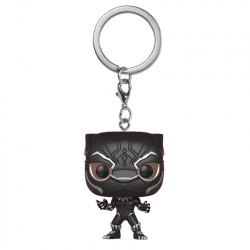 Keychain: Pocket POP! Vinyl - Black Panther