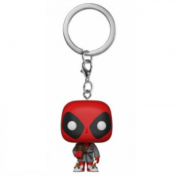 Keychain: Pocket POP! Vinyl - Deadpool in Bath Robe