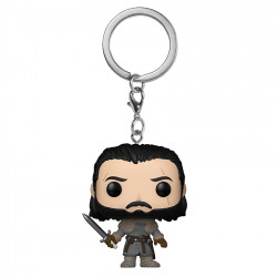 Keychain: Pocket POP! Vinyl - Jon Snow (Beyond the Wall)