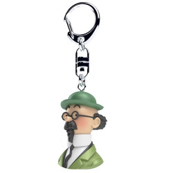Keychain: Professor Calculus - Bust