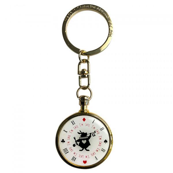 Keychain: Rabbit's clock (Alice in Wonderland)