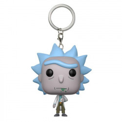 Μπρελόκ: Rick and Morty Pocket POP! Vinyl Rick