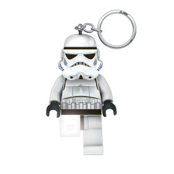 Μπρελόκ: Star Wars Lego -  Stormtrooper με LED