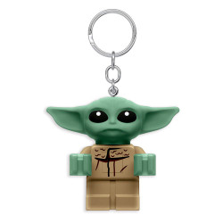 Μπρελόκ: Star Wars Lego - The Mandalorian Baby Yoda με LED