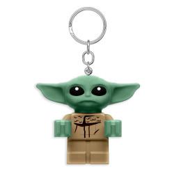 Keychain: Star Wars Lego - The Mandalorian Baby Yoda LED Light-Up
