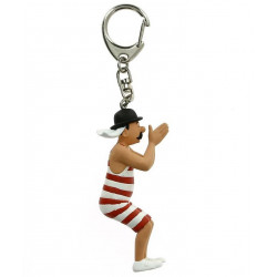 Keychain: Thompson in swimsuit