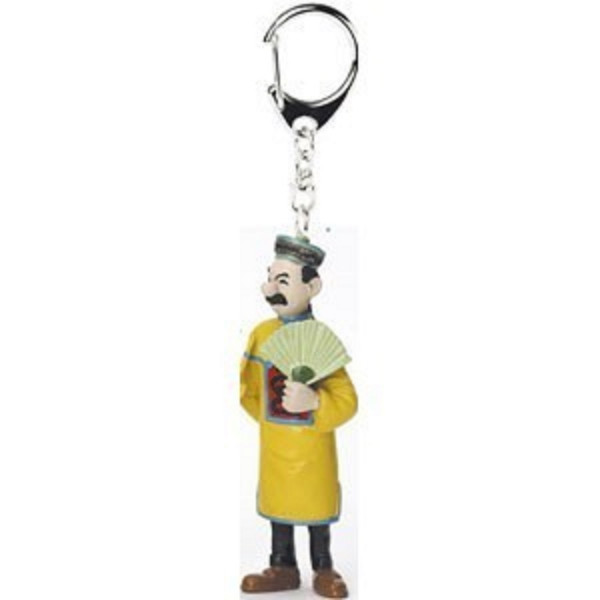 Keychain: Thomson with open fan from The Blue Lotus