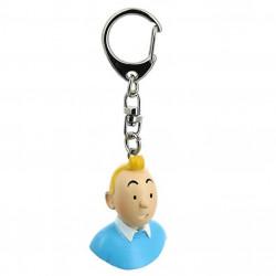 Keychain: Tintin - Bust