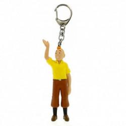 Keychain: Tintin waving