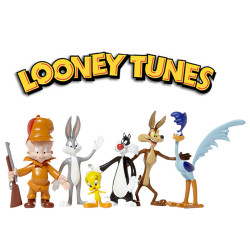 Looney Tunes Bendable Figures 6-Pack 6 - 15 cm