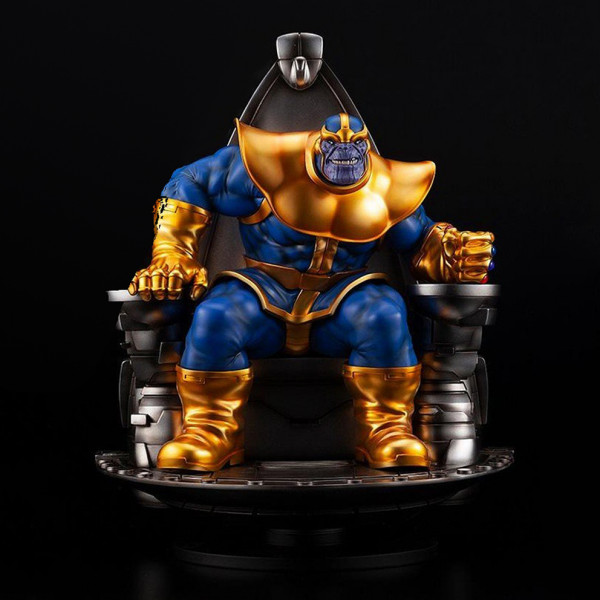 Marvel Fine Art Statue: Thanos on Space Throne (scale 1:6)