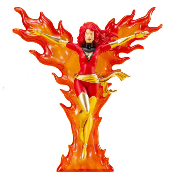 Marvel Universe: Phoenix Furious Power - άγαλμα με κόκκινο κοστούμι (κλίμακα 1:10)