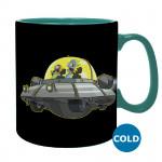 "Heat Change Mug: Rick and Morty ""Spaceship"""