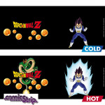 Heat Change Mug: Dragon Ball Z - Βατζέτα