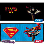 Heat Change Mug: Superman changing costume