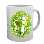 """Mug: Rick and Morty """"Portal"""""""