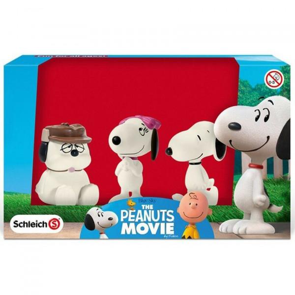 Mini Figure set: Snoopy, Belle and Olaf