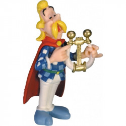 Mini Figure: Cacofonix playing his lyre