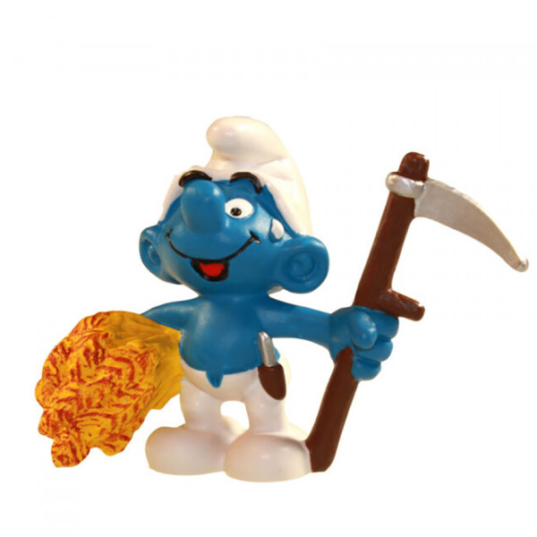 Mini Figure: Farmer Smurf