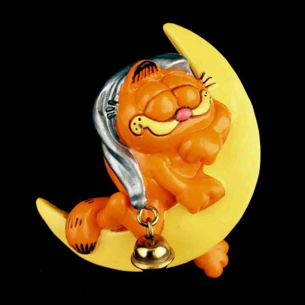 Mini Figure: Garfield hugging the moon