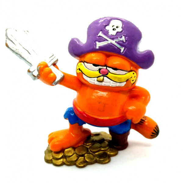 Mini Figure: Garfield Pirate